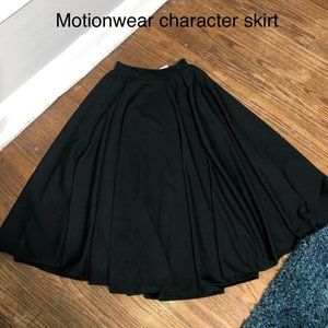 Black character skirt